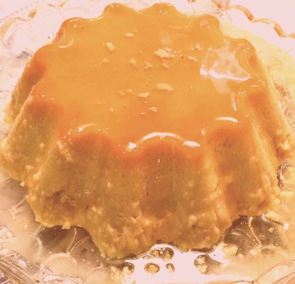 Orange flan caramel recipe